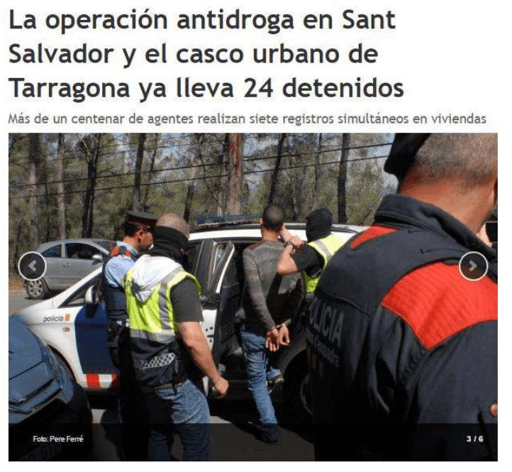 La operación antidroga ya lleva 24 detenidos